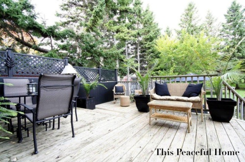 Peaceful Backyard Entertaining Area