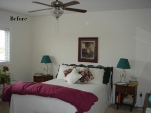 Client's Master Bedroom - before