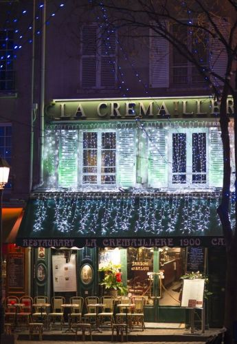 Charming Parisian Restaurant