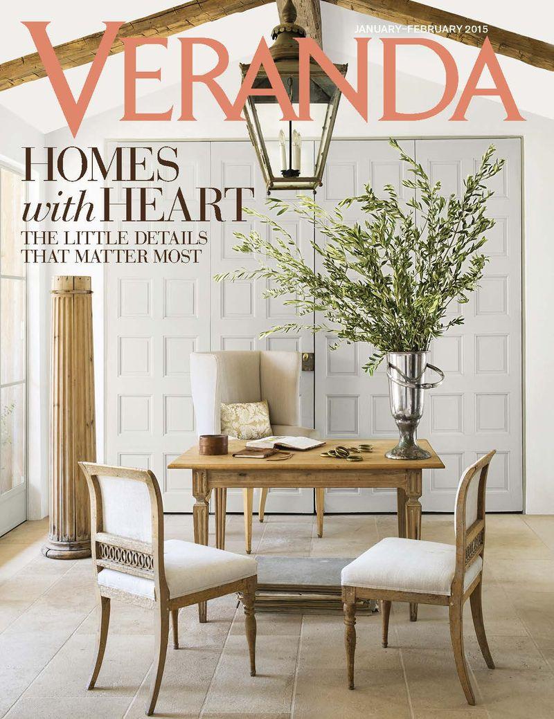 Veranda Magazine This Peaceful Home