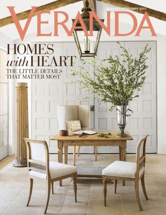 January 2015 Veranda Cover