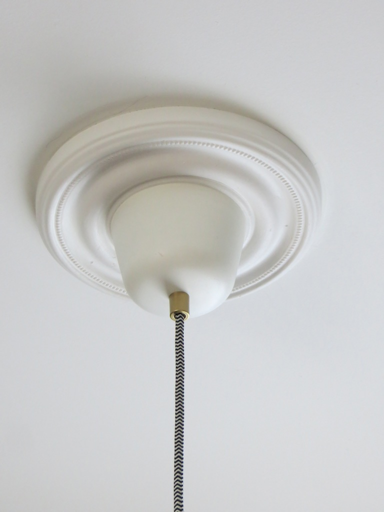 Ranarp pendant light fix this peaceful home ceiling medallion arubaitofo Images