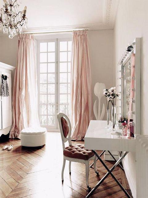 Pink Draperies