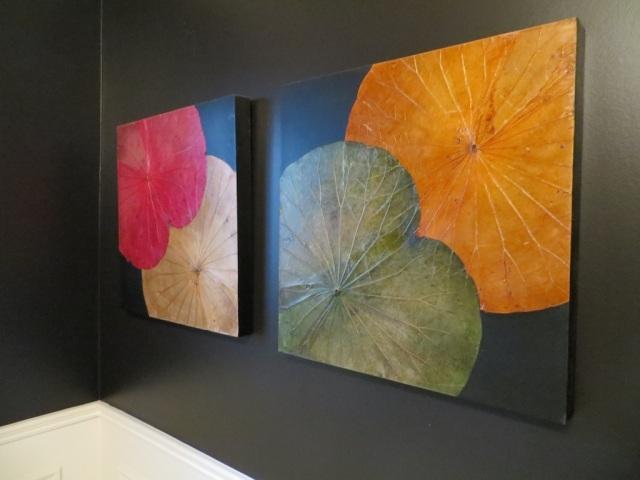 Large Leaf Artwork