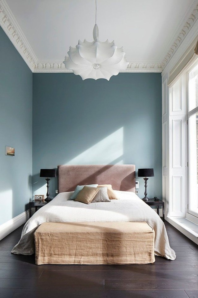 Blue London Bedroom