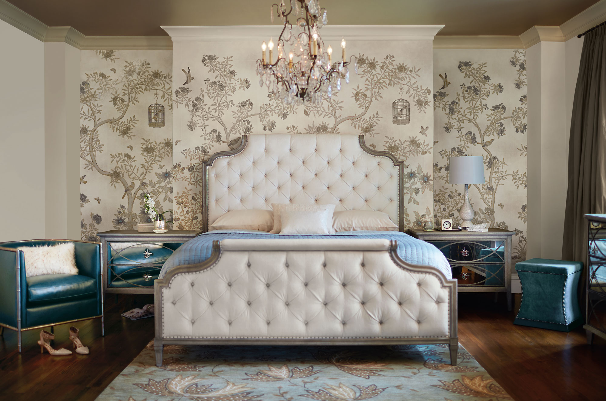 Mirrored Bedroom Beautiful Bedroom Inspiration This Peaceful Home