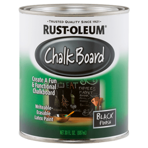 Rustoleum Chalk Board Paint